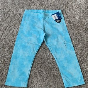 NWT Arizona crop pants blue and whirs size 7-8